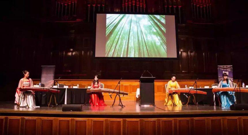 a guzheng concert